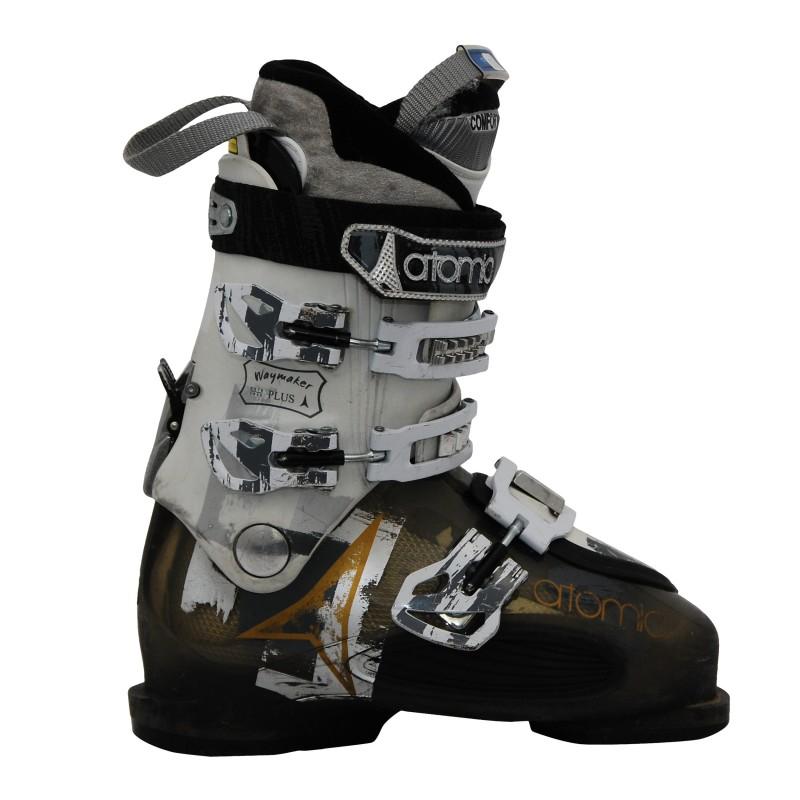 Chaussures de ski occasion Atomic waymaker noir/blanc qualité A