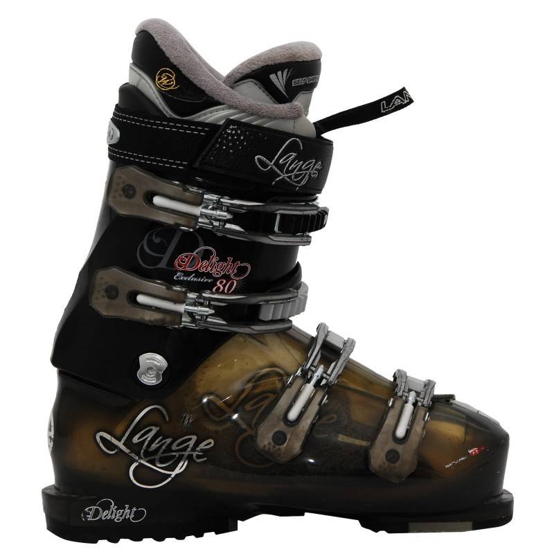 Chaussure de Ski Occasion femme Lange Delight exclusive 80 noir/or
