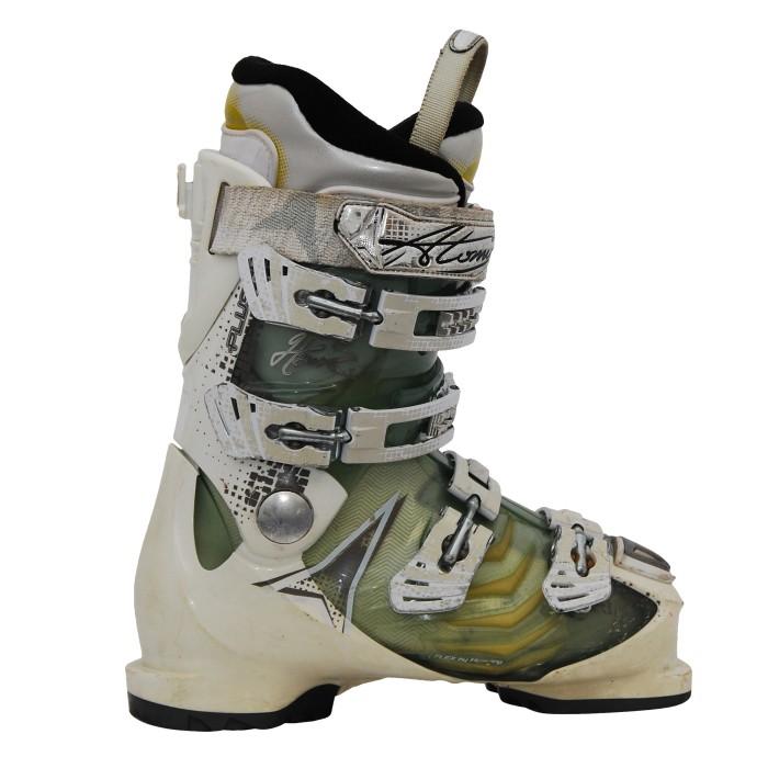 Chaussures de ski occasion Atomic Hawx blanc/bleu translucide
