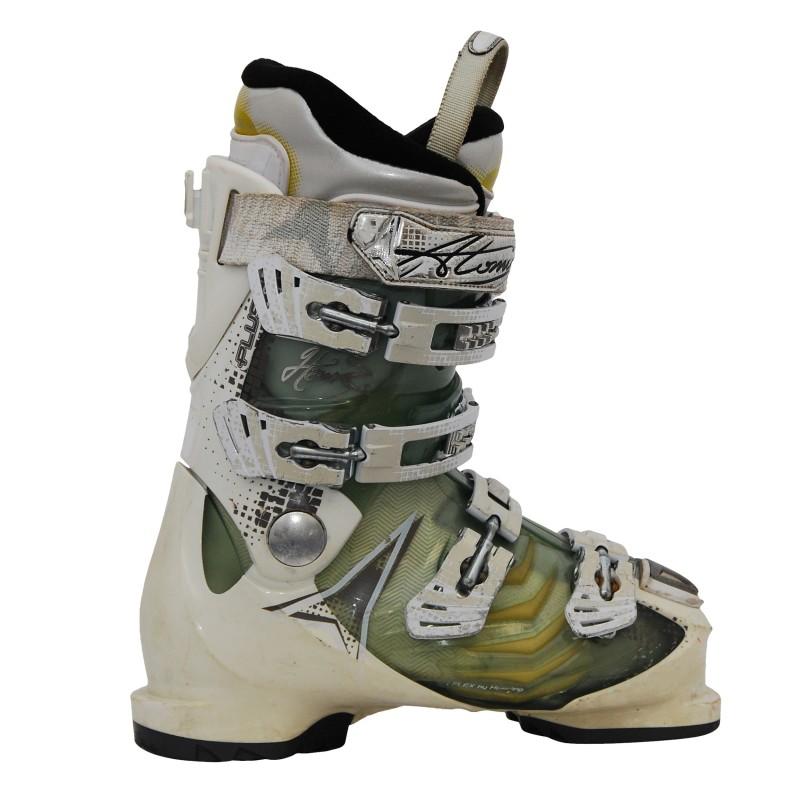 Chaussures de ski occasion femme Atomic Hawx+ translucide qualité A