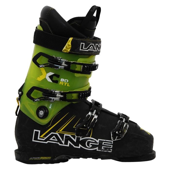 Chaussure Ski alpin occasion LANGE XC 80 RTL vert noir