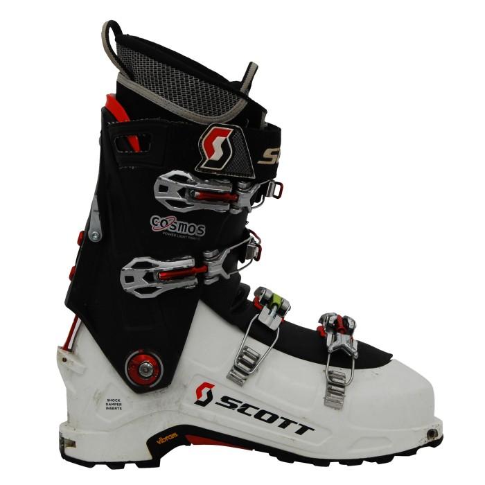 Rando verwendet scott Cosmos schwarz weiß Skischuh