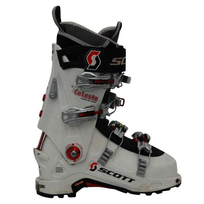Chaussure ski Rando occasion Scott Celeste blanc