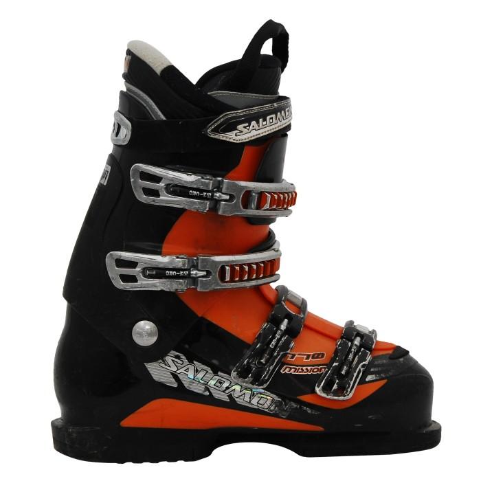 Used ski boots Salomon mission 770 black/orange