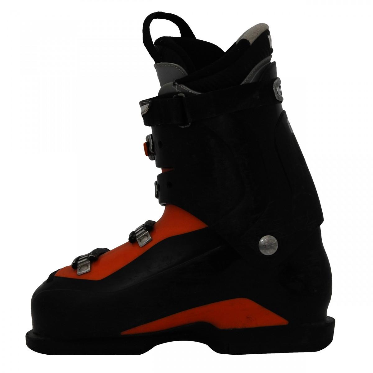 Used ski boots Salomon mission 770 blackorange