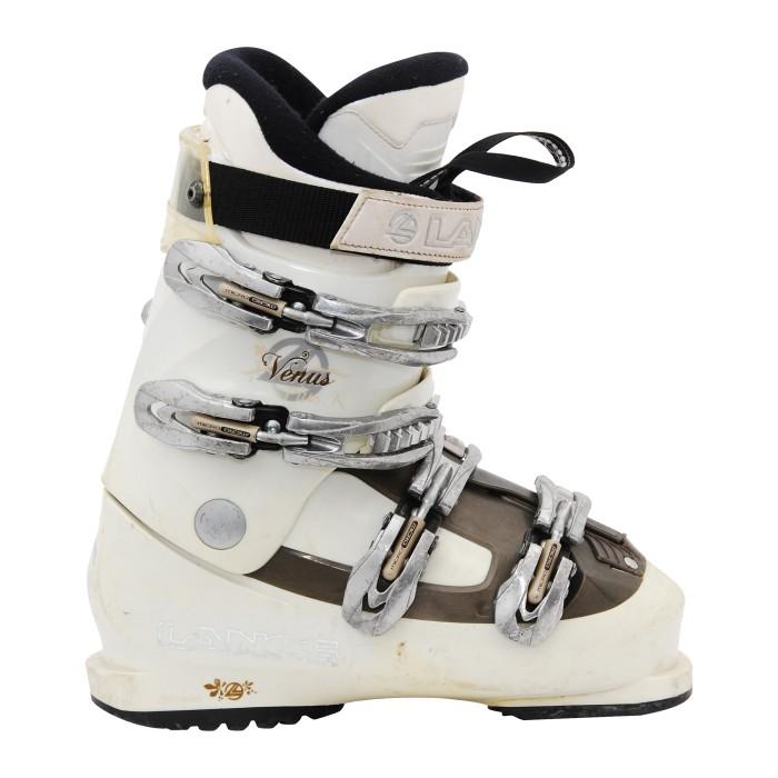 Chaussure de Ski Occasion Lange venus R marron/blanc.