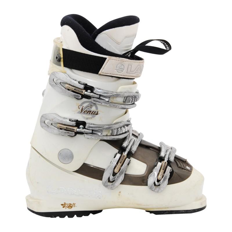 Chaussure de Ski Occasion Lange venus R marron/blanc