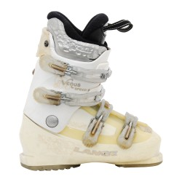 Chaussure de Ski Occasion Lange Venus speed R blanc/beige