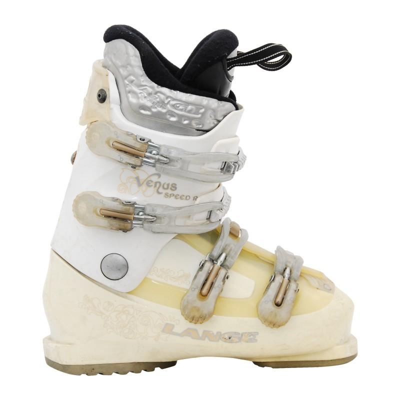 Chaussure de Ski Occasion femme Lange Venus speed R blanc/beige qualité A