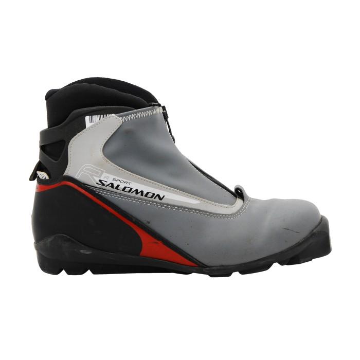 Used cross-country ski boot Salomon R Sport SNS Profile