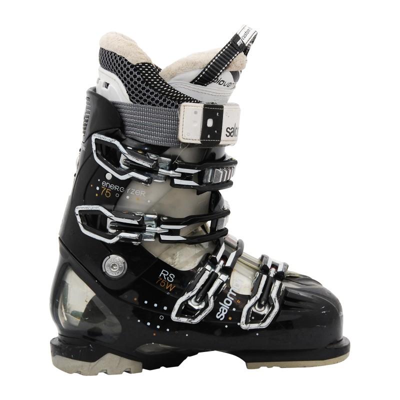 Chaussure de ski occasion Salomon RS 75 W noir