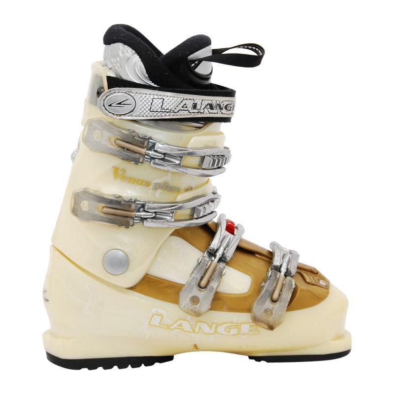 Chaussure de Ski Occasion femme Lange Venus Plus R Beige/or qualité A