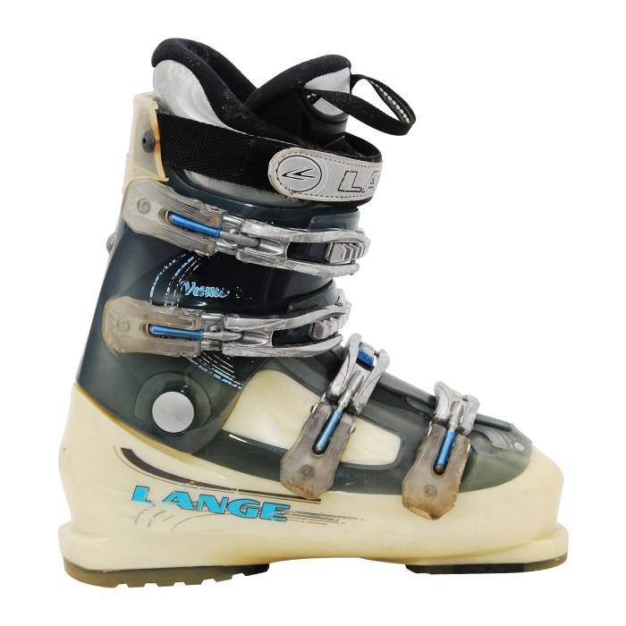 Chaussure de Ski Occasion Lange venus R beige/bleu