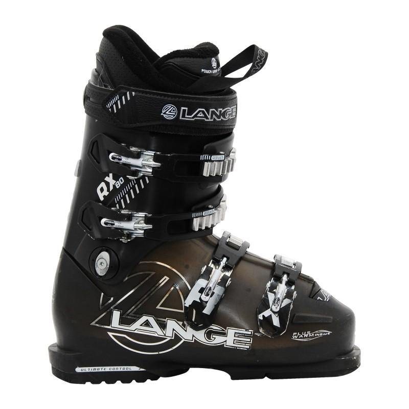 Chaussure de ski occasion Lange RX 80 marron