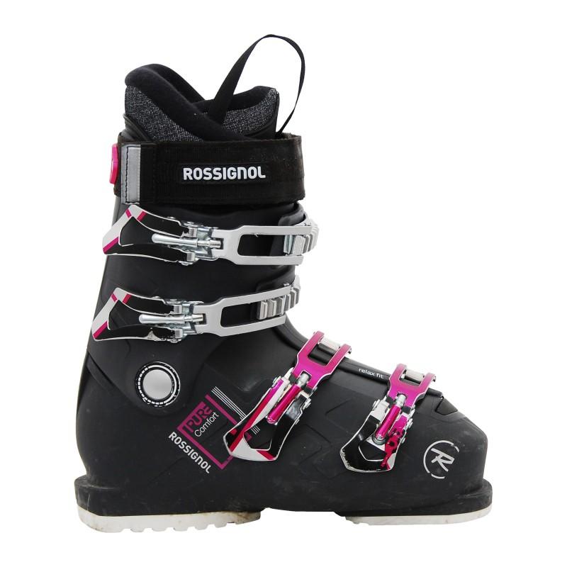 Chaussure ski occasion Rossignol Pure comfort noir qualité A