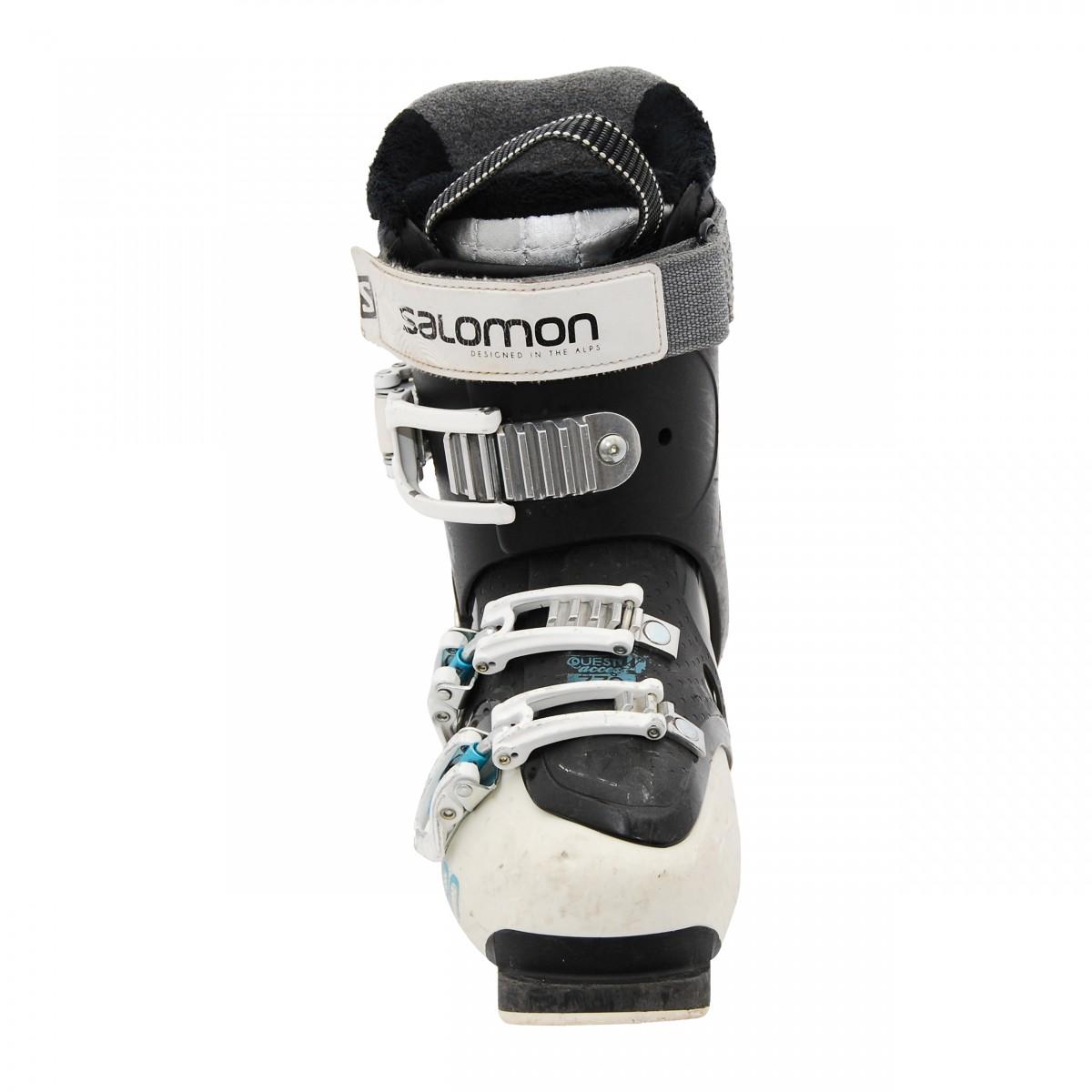 Used ski boots Salomon Quest access R70 W black