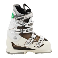 Used ski boot Salomon model Divine white