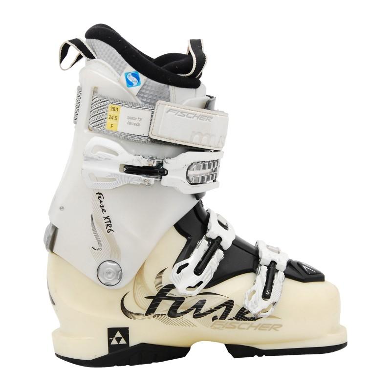 Chaussure de ski occasion Fischer Fuse XTR 6 blanc
