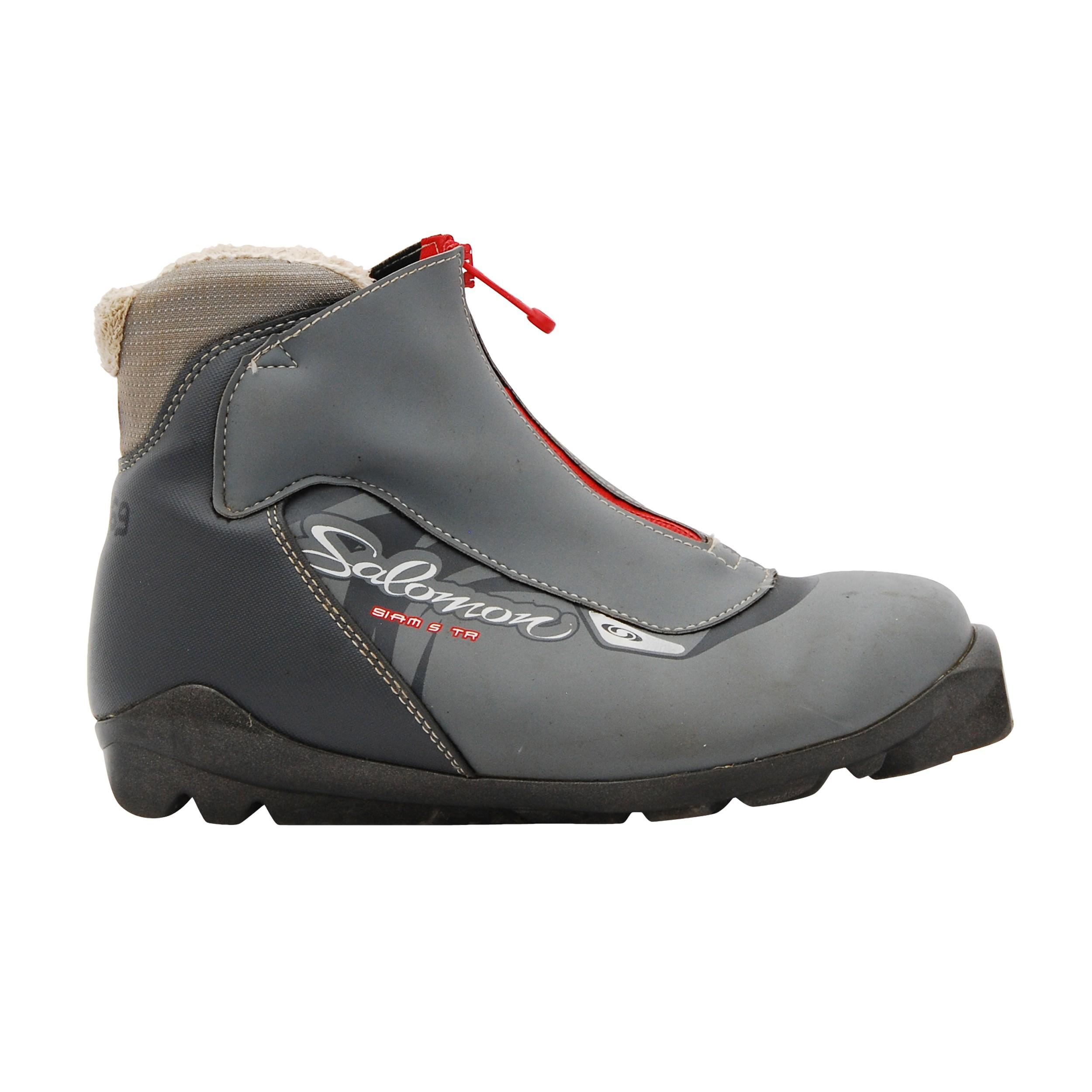 Chaussure ski fond occasion Salomon Siam 5 TR gris