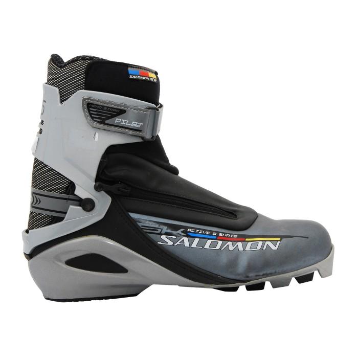 Chaussure fond occasion Skating SALOMON Active 8 SKAte noir gris