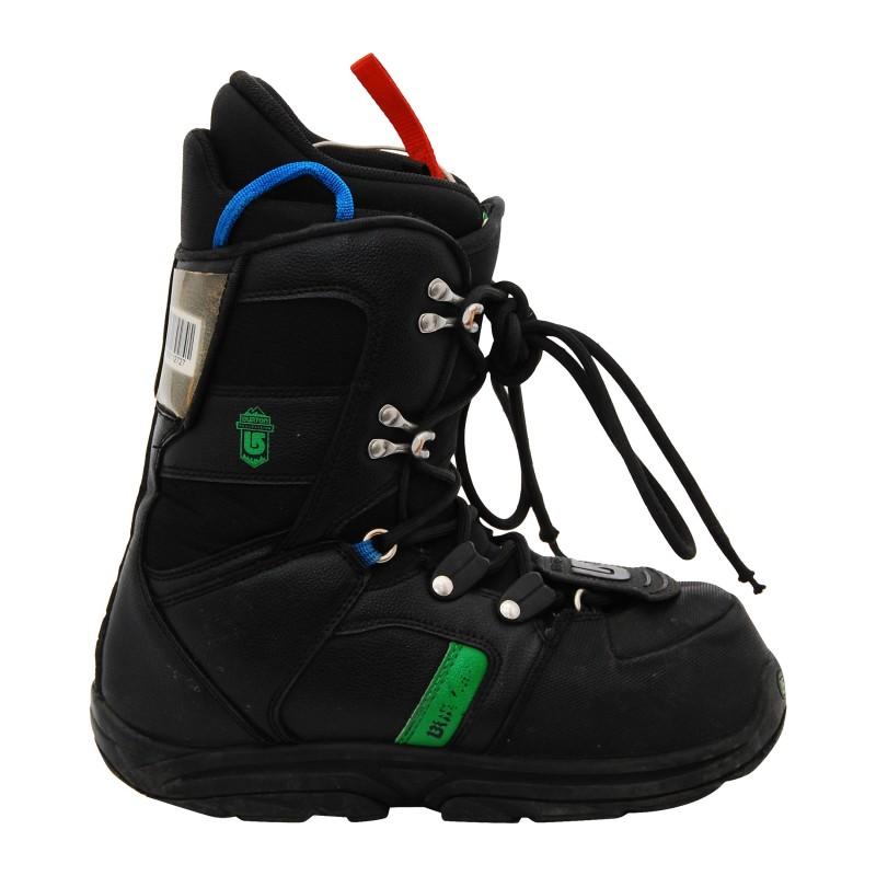 Boots occasion Junior Burton progression kid noir vert qualité A