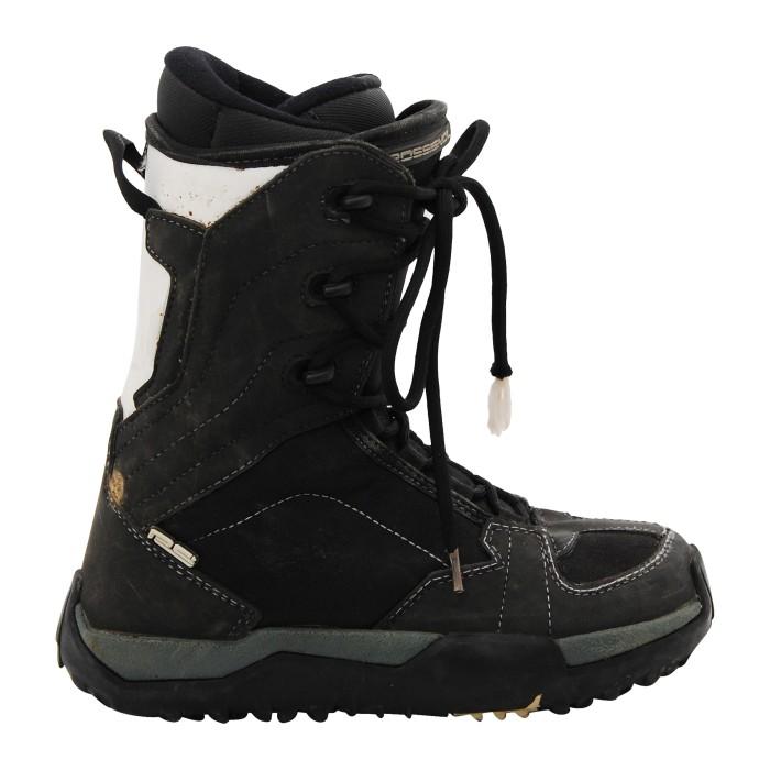Stiefel verwendet Rossignol RS schwarz und weiß