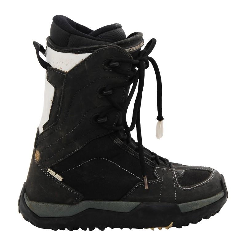 Boots occasion Rossignol RS noir et blanc