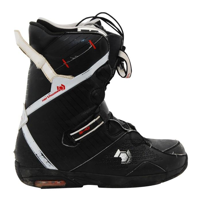 Boots occasion Northwave 540 noir blanc