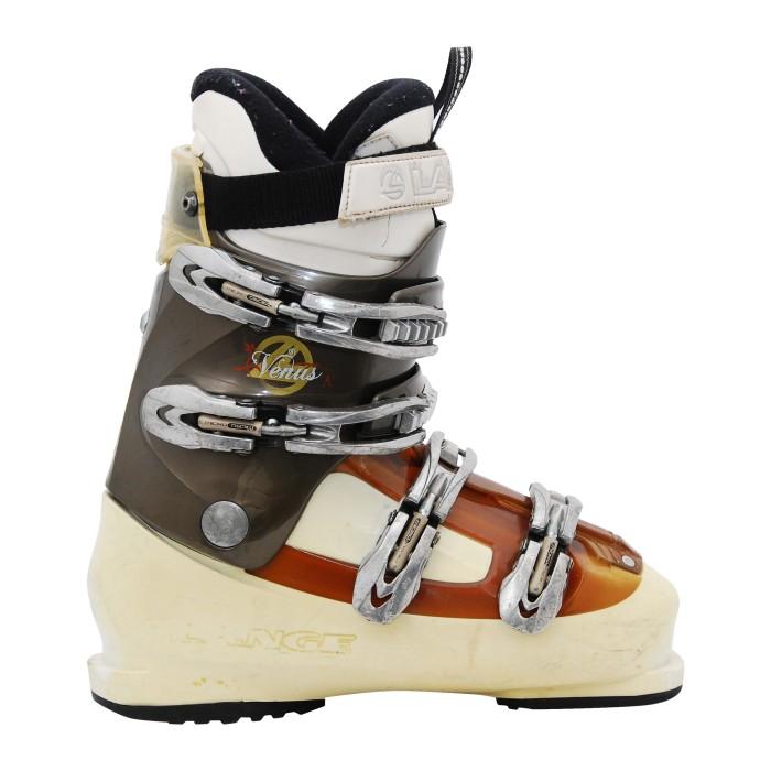 Chaussure de Ski Occasion Lange Venus R marron/beige