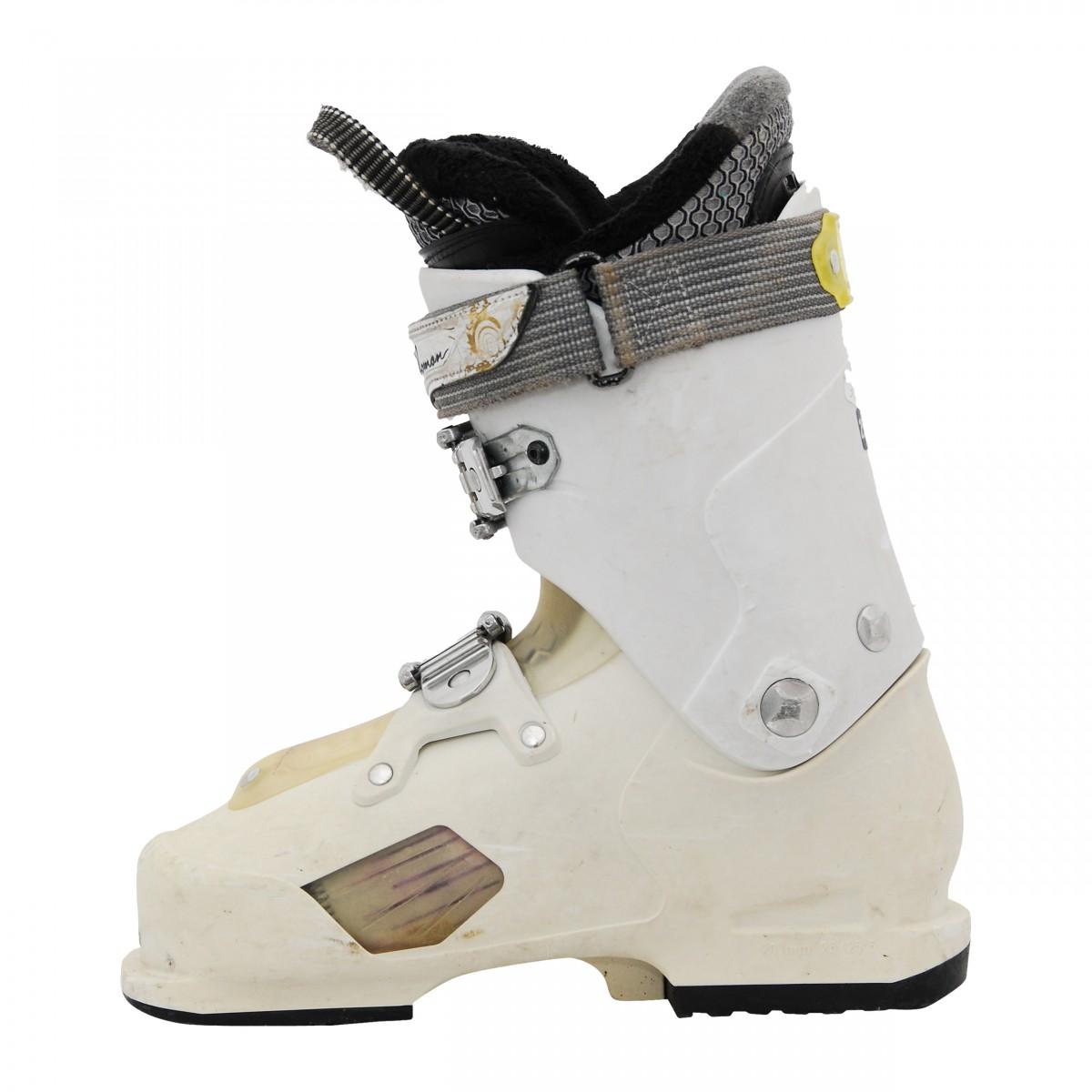 Chaussure de ski Occasion femme Salomon focus RS blanche