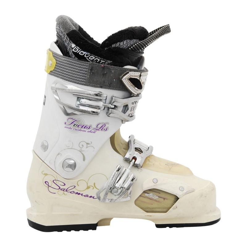 Chaussure de ski Occasion Salomon Focus Rs White