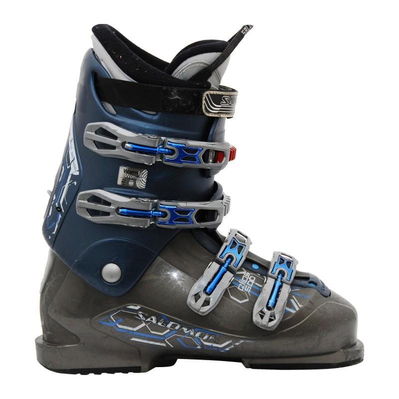 bota de esquí gris Salomon performa 500