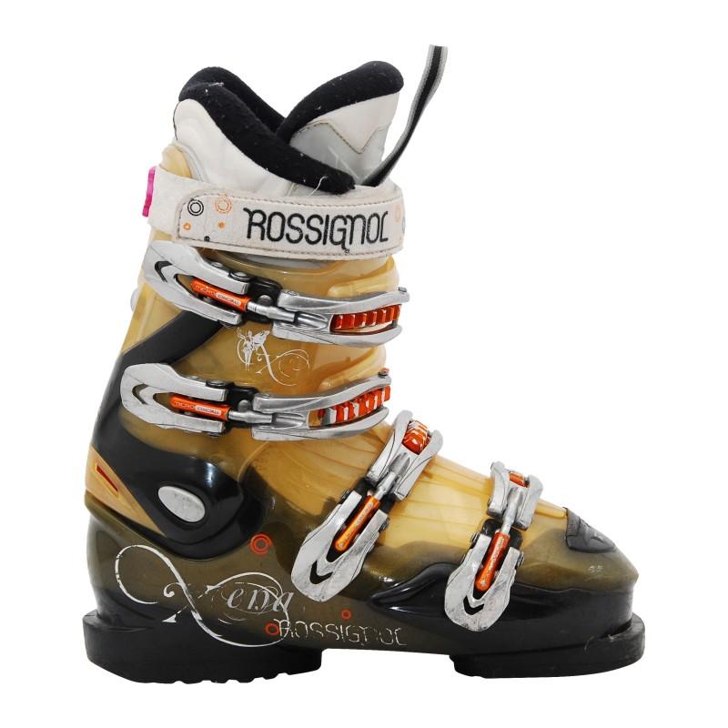 Chaussure de ski occasion femme Rossignol Xena or/noir