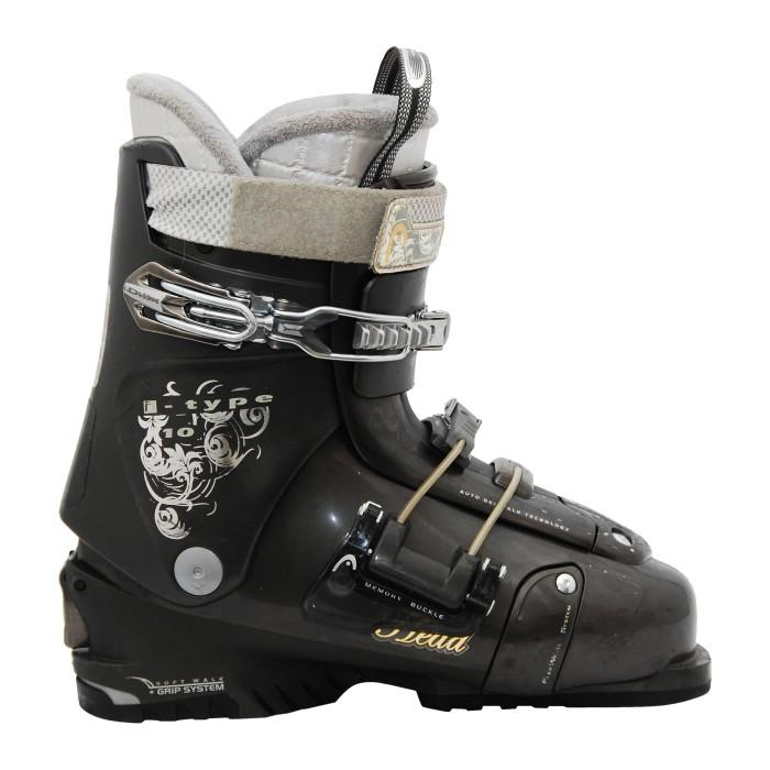 Cabezal de bota de esquí usado i Tipo 10 Gris