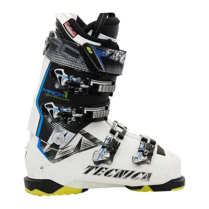 Skischuh Gelegenheit Tecnica Mach 1blanc