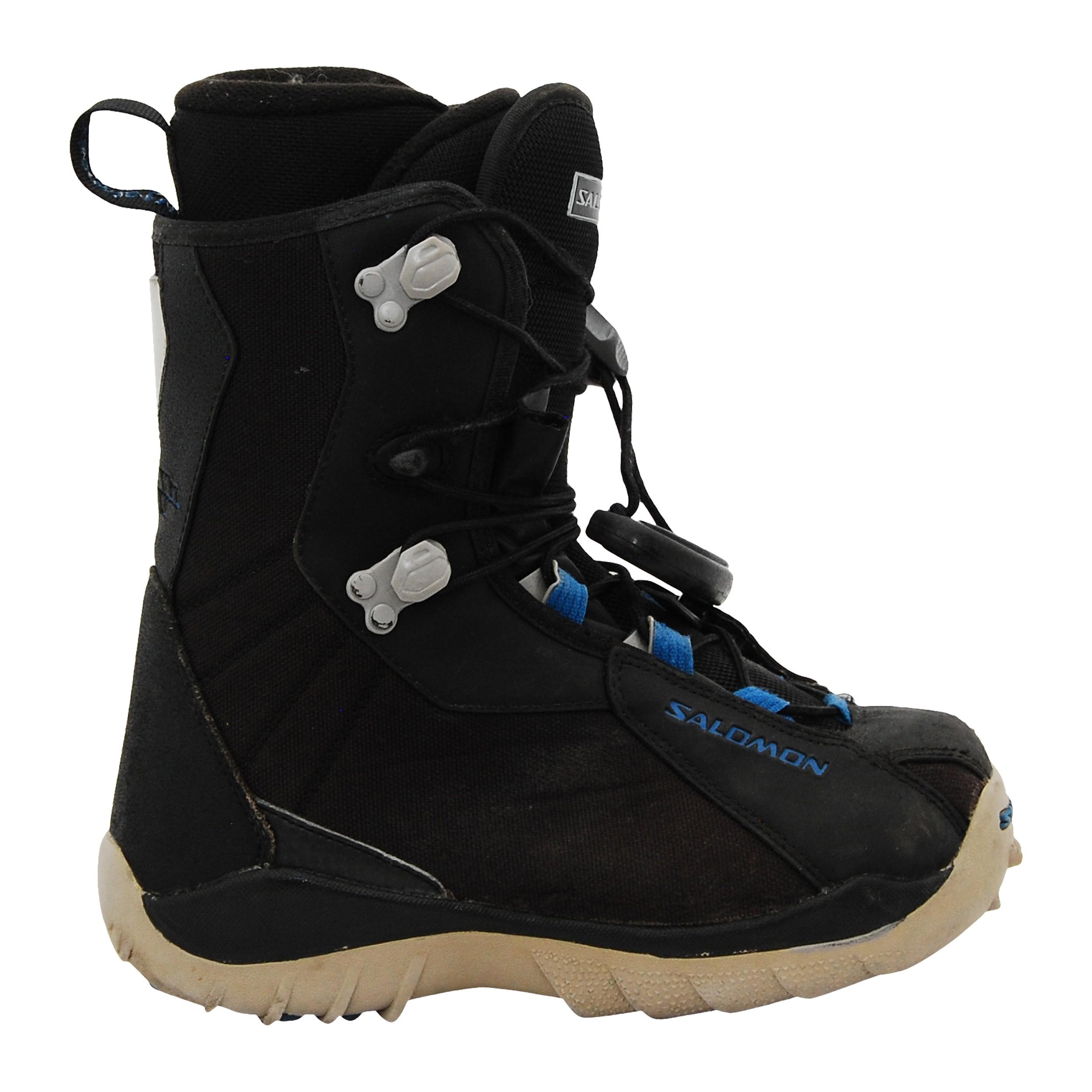 occasion Salomon et Boots rouge noir kamooks BdCxWreo