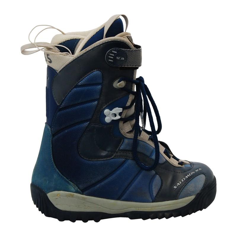 Boots occasion Salomon Kiana bleu