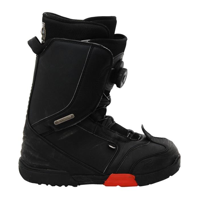 Snowboardschuhe Rossignol Excite Boa h2 schwarz