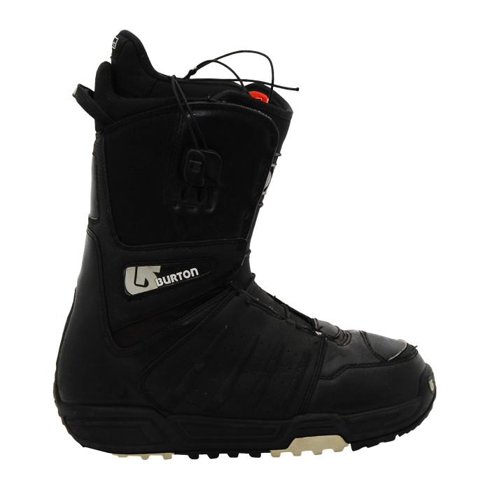 Burton used black motorcycle boots