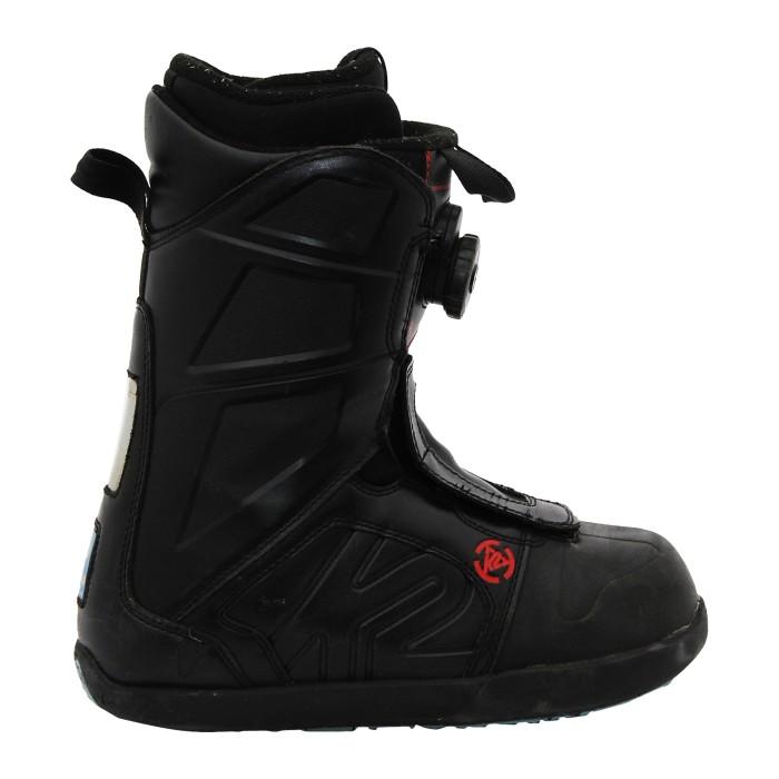 Stiefel Anlass K2 Raider / schwarz Vandalen