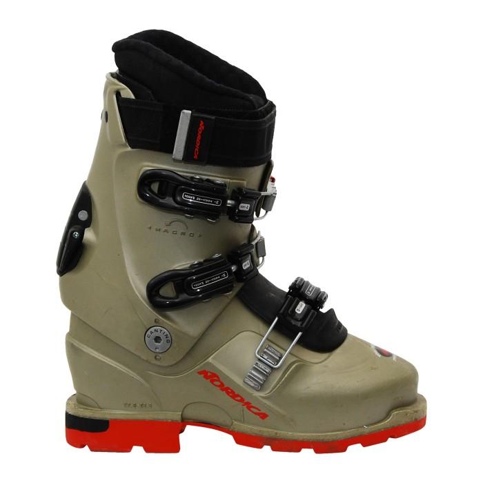 Chaussure de ski randonnée occasion nordica TR 12 gris