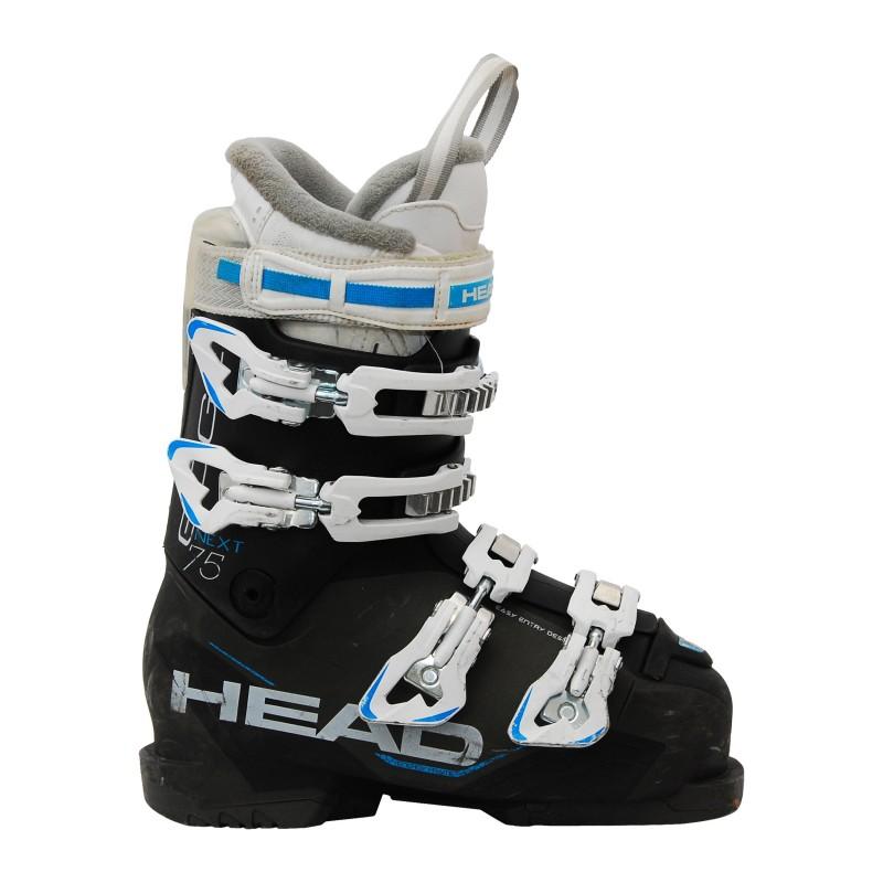 Chaussure de ski occasion Head next edge 75W noir/bleu qualité A