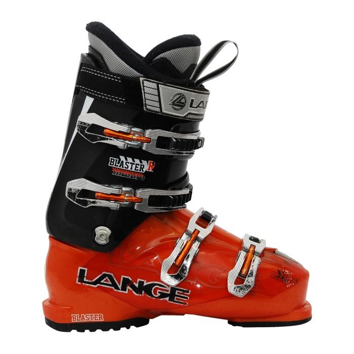 Ski gebrauchtschuh Lange Blaster R orange/schwarz