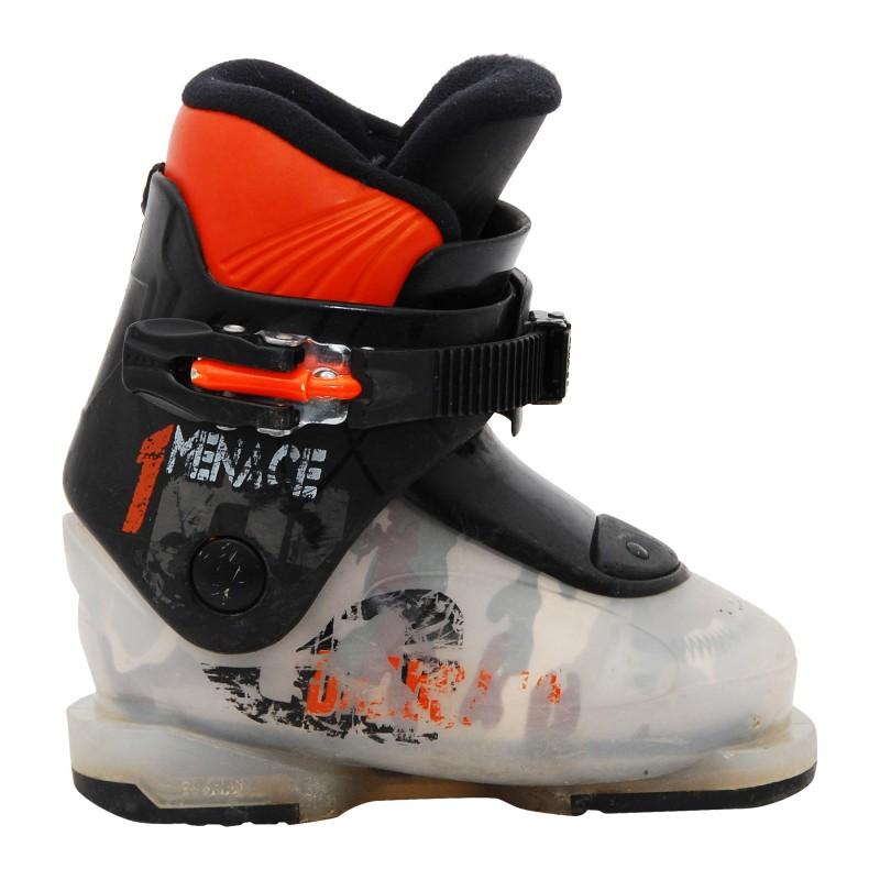 Chaussure de ski occasion Dalbello junior menace noir/orange qualité A