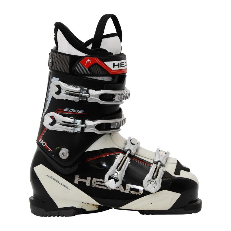 chaussures de ski occasion Head next edge 80 blanc/noir/rouge