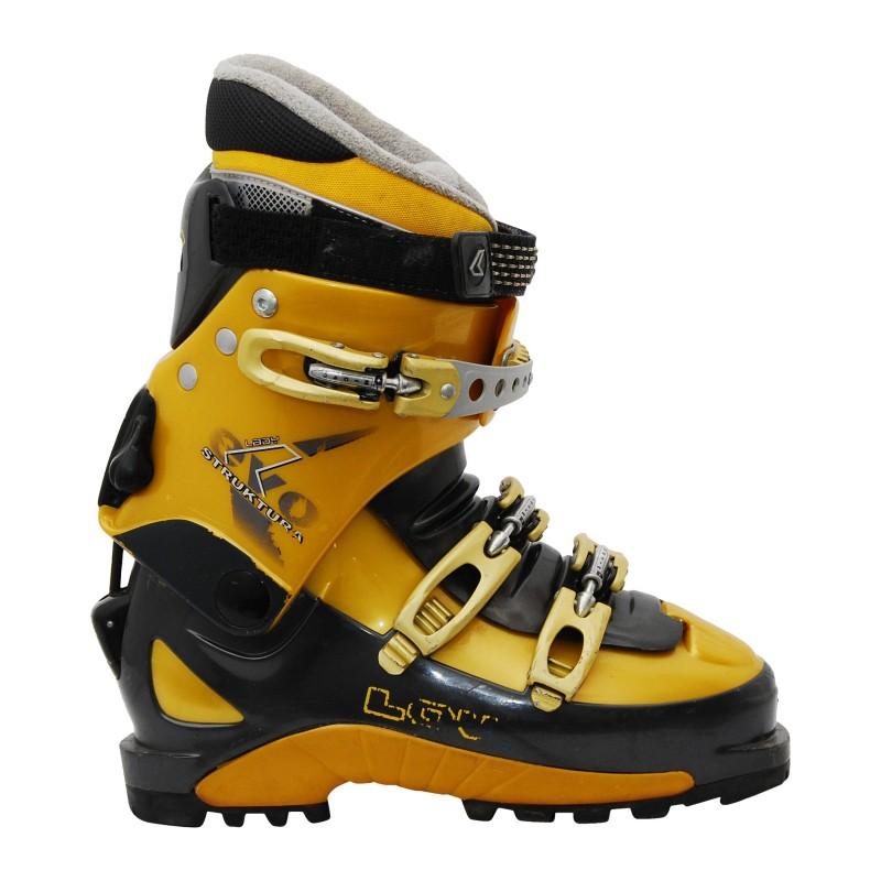 Chaussure ski randonnée occasion Lowa Struktura lady evo jaune qualité A