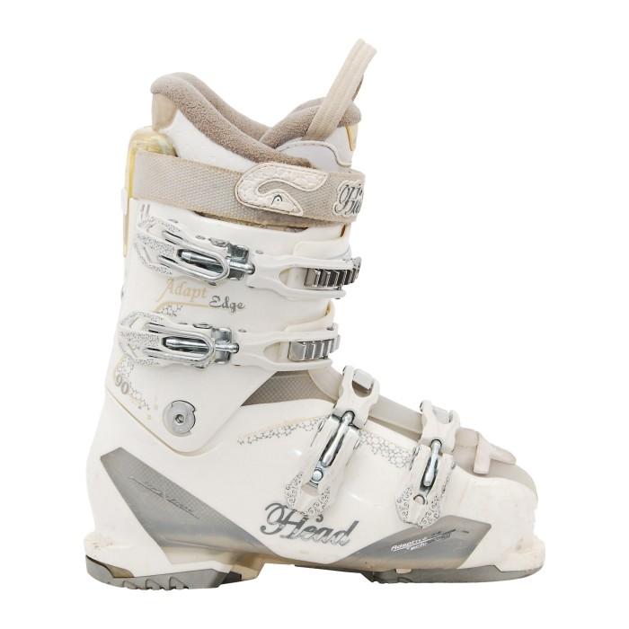 Gebrauchter Skischuh Kopf passt Kante 90 w weiß an