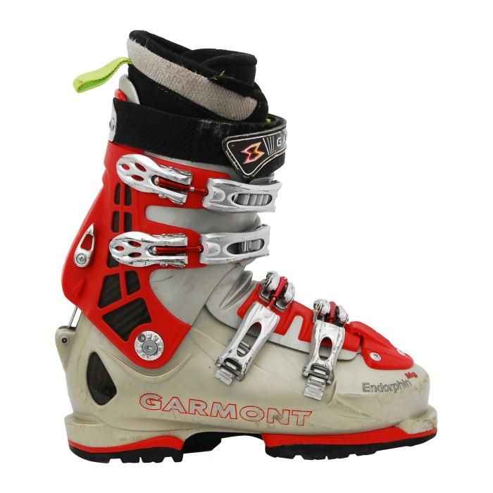 Chaussure de ski de randonnée Garmont Endorphin MG gris rouge