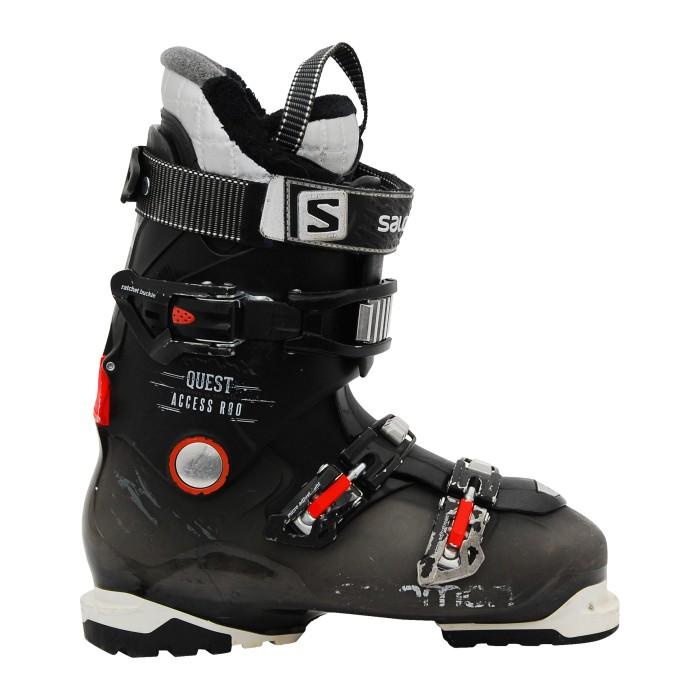 Salomon Quest Access ski boots 8uest acces black / red