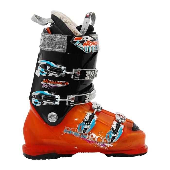 Chaussure Ski alpin occasion NORDICA Enforcer orange noir